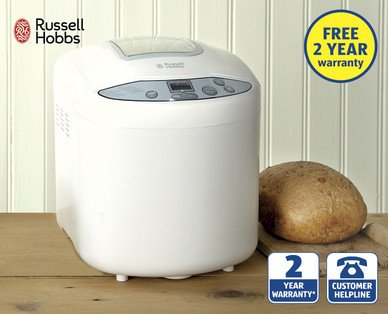 russell hobbs compact breadmaker 18036 aldi from. Black Bedroom Furniture Sets. Home Design Ideas