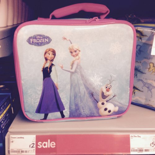 disney frozen lunch bag 2 asda hotukdeals. Black Bedroom Furniture Sets. Home Design Ideas