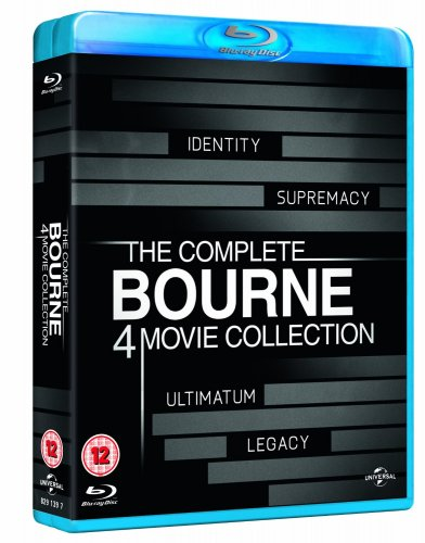 the complete bourne 4 movie collection bluray 163880