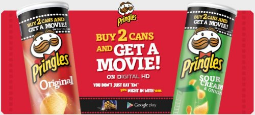 deals buy  pringles cans get a free movie