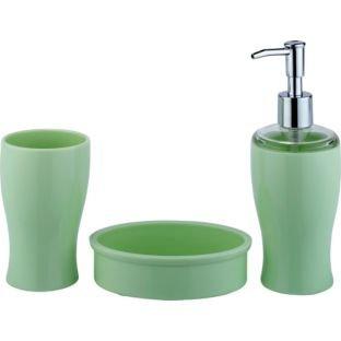 Less than half price colourmatch bathroom for Bathroom accessories argos