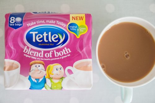 tetley blend of both 80 teabags in store asda. Black Bedroom Furniture Sets. Home Design Ideas