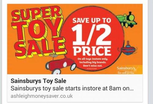sainsbury's toy sale - photo #4