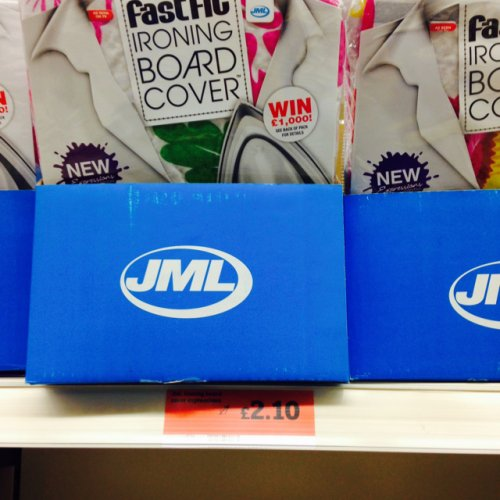 jml fast fit ironing board cover