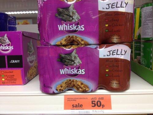 Sainsburys Whiskas Cat Food