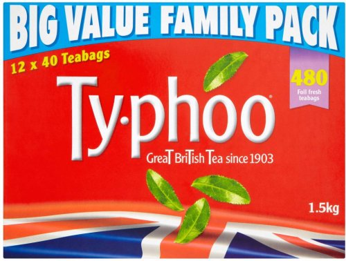 typhoo teabags 480 1 5kg was now rollback. Black Bedroom Furniture Sets. Home Design Ideas