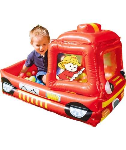 chad valley fire engine ball pit argos hotukdeals. Black Bedroom Furniture Sets. Home Design Ideas