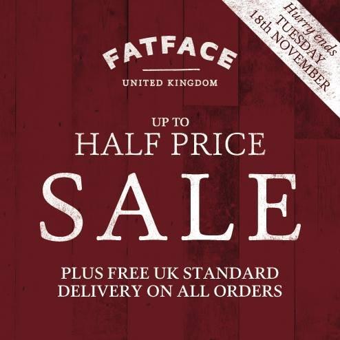 Deals fat face