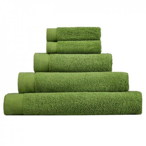 asda green towels 2pack flannels 50p hand towel. Black Bedroom Furniture Sets. Home Design Ideas