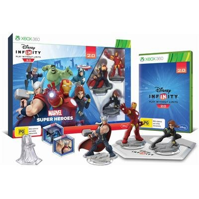 Disney Infinity 2 0 Marvel Superheroes Starter Pack Xbox