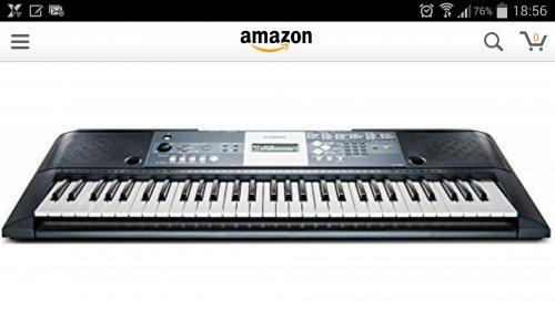 yamaha ypt 230 keyboard lidl hotukdeals. Black Bedroom Furniture Sets. Home Design Ideas