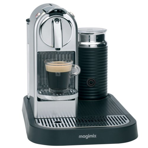 Debenhams Exclusive: Nespresso Citiz and Milk 11307 chrome coffee machine - ?121.50 with Black ...