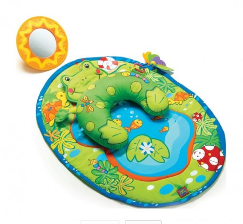 tiny love tummy frog baby playmat reduced to argos. Black Bedroom Furniture Sets. Home Design Ideas