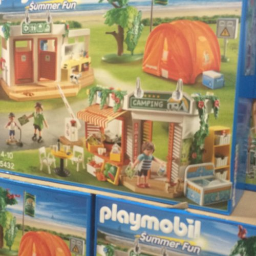 Playmobil Camp Site Summer Fun 5432 for £35.98 @ Costco ...