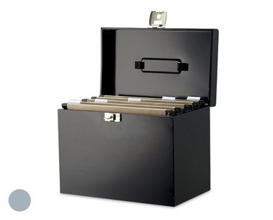 metal file box aldi hotukdeals. Black Bedroom Furniture Sets. Home Design Ideas