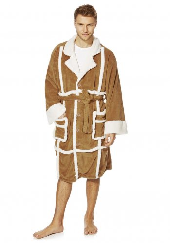 only fools dressing gown 11 superman 12 tesco. Black Bedroom Furniture Sets. Home Design Ideas
