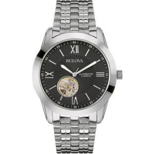 bulova mens automatic 163 87 99 delivered free