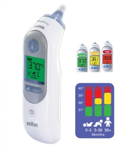 braun thermoscan 7 irt 6520 in ear thermometer. Black Bedroom Furniture Sets. Home Design Ideas