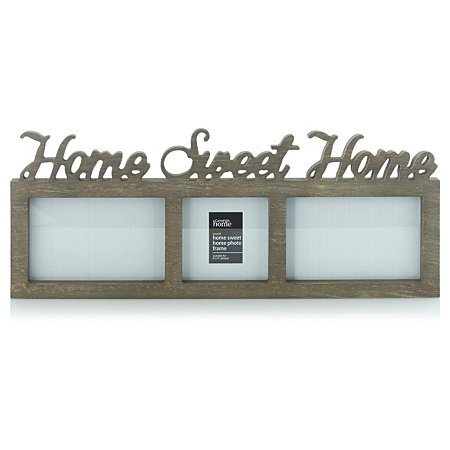 39 home sweet home 39 photo frame now 4 asda george c c. Black Bedroom Furniture Sets. Home Design Ideas
