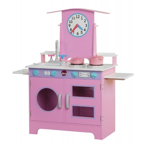 Kitchen Accessories Amazon Uk: Plum Padstow Wooden Role Play Kitchen With Accessories