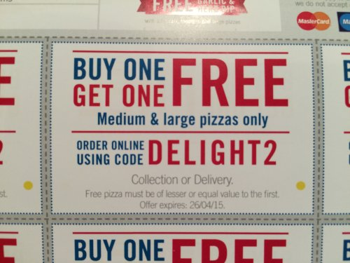 Hotukdeals dominos