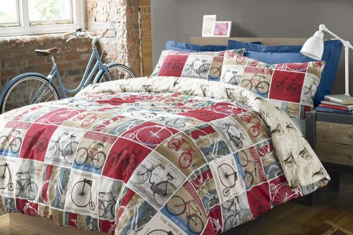 Bicycle Duvet Cover And Pillow Case 163 12 Very Hotukdeals