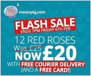 "Dec 03,  · Moonpig Voucher Codes With our ""Best Coupon Promise"" you can be sure to have found the best* vouchers available! Buy 1 Get 1 FREE at Moonpig. Get Code Terms & Conditions. Discount: Delivery between £ and £ (depending on product)."