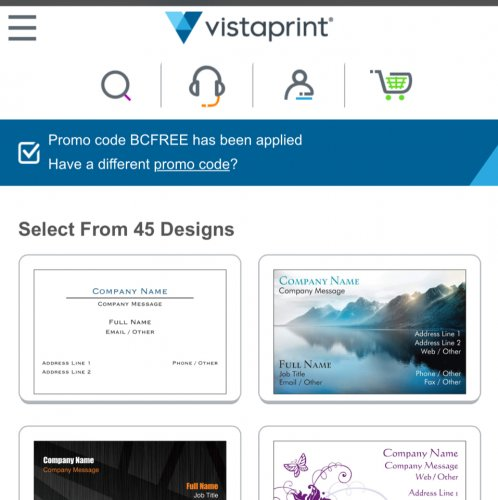 Vistaprint postcards deals thick quality glass coupon vistaprint aims to create and customize affordable marketing materials for your business business cards websites postcards banners even t shirt and colourmoves