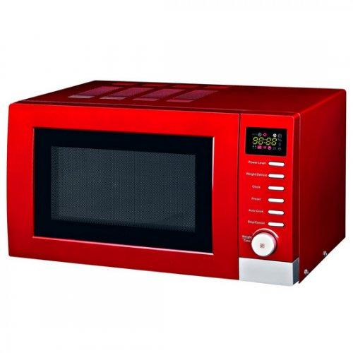 Red Microwave Oven Uk: Spectrum Red Digital Microwave 700 Watt £24.99 Dunelm Mill