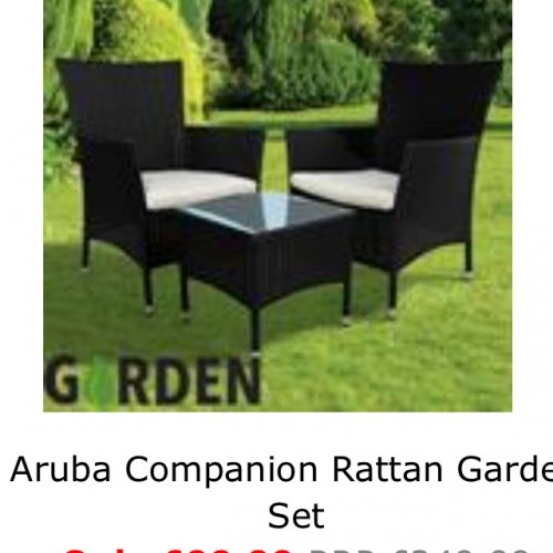 Rattan Garden Furniture Home Bargains Hotukdeals