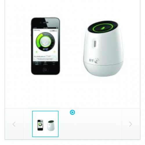 bt smart audio iphone ipad baby monitor was now maplin hotuk. Black Bedroom Furniture Sets. Home Design Ideas