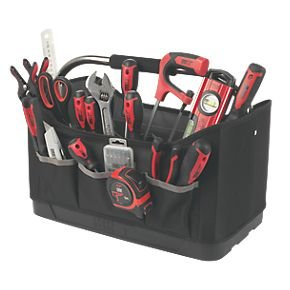 general tool kit with tool bag screwfix hotukdeals. Black Bedroom Furniture Sets. Home Design Ideas