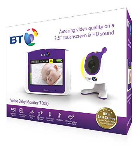 bt video baby monitor 7000 on amazon hotukdeals. Black Bedroom Furniture Sets. Home Design Ideas