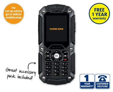 Aldi Rugged Dual Sim Mobile Phone For Just 163 29 99 Each