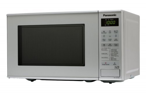Panasonic Nn K181mmbpq 20l 800w Silver Microwave Oven With