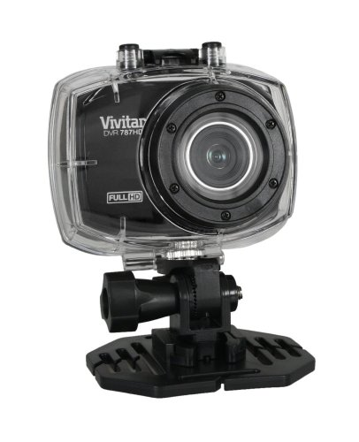 vivitar dvr787 hd waterproof action camera dvr787gad 12 1. Black Bedroom Furniture Sets. Home Design Ideas