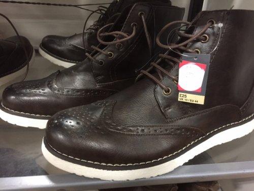 mens shoes boots sale 163 6 at matalan instore hotukdeals