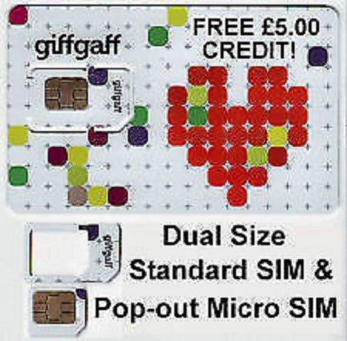 Giffgaff sim deals