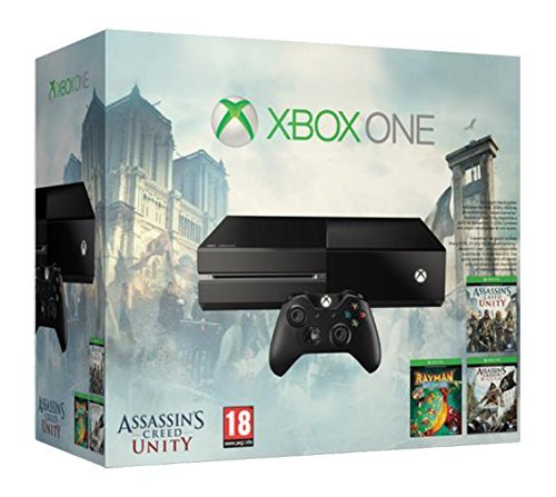 Xbox one console with assassins creed black flag