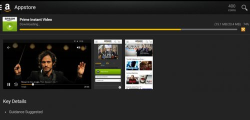 was added watch amazon instant video on android tablet like you