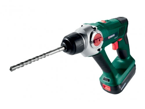 parkside 18v li ion sds hammer drill with 3 year warranty. Black Bedroom Furniture Sets. Home Design Ideas