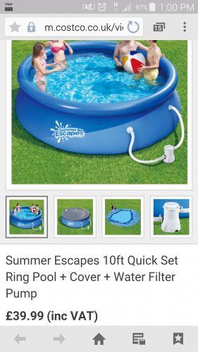 Ft Quick Set Ring Pool