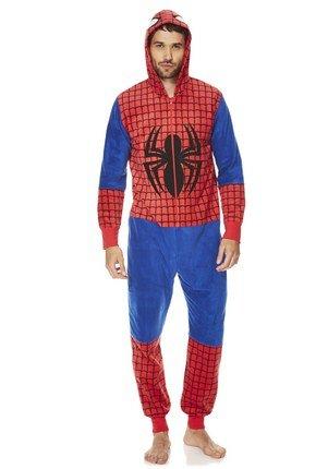 Mens spiderman onesie 10 tesco clothing free click for Mens dress shirt onesie