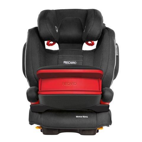 Recaro Monza Nova Is Group 1 2 3 Car Seat Black Only 163