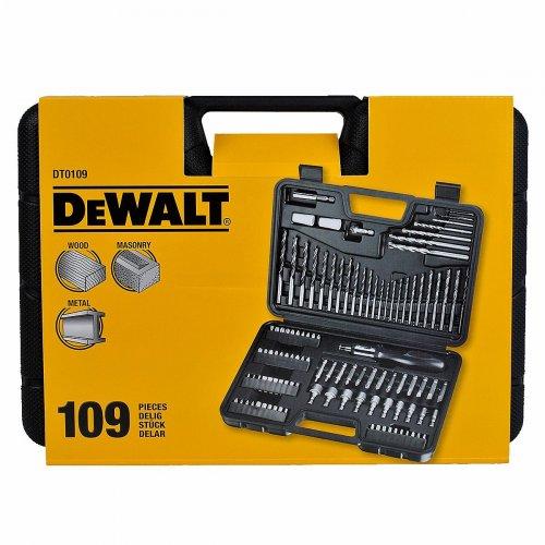dewalt 1 5 10 mm drill screwdriver bit set 109 pieces 20 b q hotukdeals. Black Bedroom Furniture Sets. Home Design Ideas