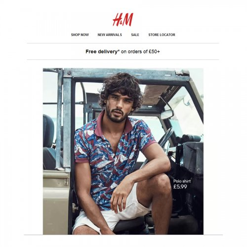 Regardless of current promotions or whether a H&M student discount is available or not, you can always save at H&M UK online. Discover amazing savings on current styles in the H&M sale. With discounts of up to 70% off, you can definetly find your favourite fashions at a bargain price.