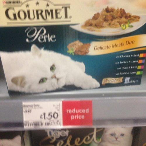 Gourmet Perle Cat Food Asda