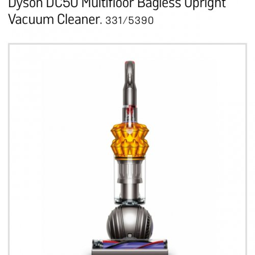 dyson dc 50 249 or with trade in argos hotukdeals. Black Bedroom Furniture Sets. Home Design Ideas
