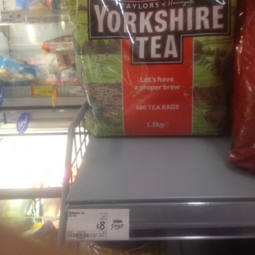 480 yorkshire tea bags in asda for 8 hotukdeals. Black Bedroom Furniture Sets. Home Design Ideas