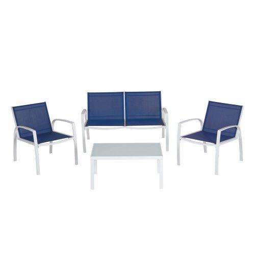 sofa set deals uk ~ saldanha conversation sofa set  4 piece £30 @ asda
